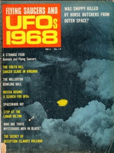 UFOS 1968 COVER